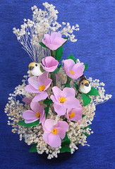 composizione floreale primaverile