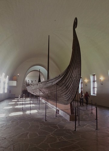 The Oseberg ship
