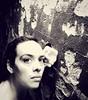 Day 120 -- Hit The Wall (jessthemediastudent) Tags: portrait selfportrait wall self underground 365days hitthewall denimfilter