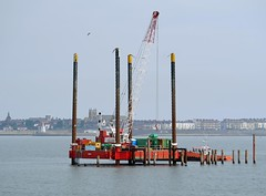 Rig in Hartlepool Bay (Kev's.Pix) Tags: bay seaside rig southbay headland codurham seatoncarew hartlepool