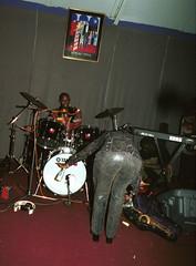 Afrigo Uganda Independence Celebration Kokonut Grove Hackney Wick London Oct 14 2000 044 Nokwanda arse (photographer695) Tags: 2000 grove 14 oct uganda independence kokonut afrigo