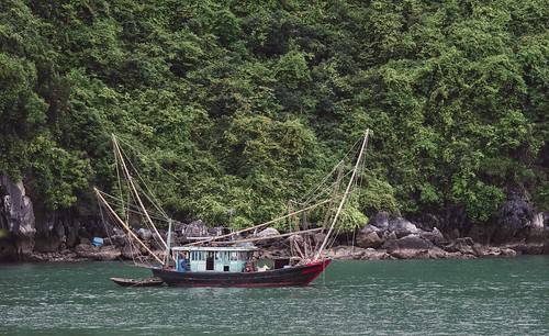 Ha Long Bay - Fishing Boat