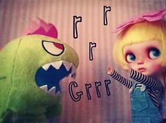 A Doll A Day. Dec 10. Dinosaur vs Lemonade.