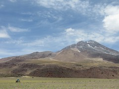 Volcan Socompa, as we near the pass