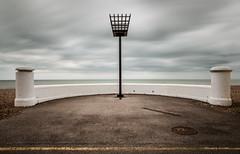 (Attila Pasek) Tags: cloud beach seafront bognorregis longexposuretime
