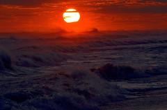 Power (Darren-) Tags: sunset sea sky newyork beach water beautiful beauty sand waves longisland westhampton blinkagain nikond5100
