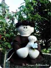 Santo Antnio (Di Marqui Artesanatos) Tags: de craft felt casamento feltro santo santoantnio