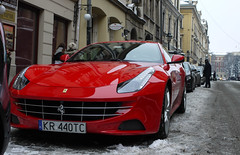 Ferrari FF (MauriceVanGestel Photography) Tags: auto family schnee winter snow cold cars ice pool car sport four italian snowy nieve sneeuw familie freezing poland polska krakow polish ferrari front dirty clean pools coche angry polen snowing autos roads krakw cracow lesser ff supercar coches sportscar vies supercars spotless v12 pl krakau koud forfour polski italiaans icecold seizoen sportwagen voorkant straten italiancar familycar ijskoud schoon sneeuwen vriezen kleparz lesserpoland dirtyroads italiaanseauto familiewagen v12supercar familieauto ferrariff ferrarifour kleparzkrakw brandschoon ferrarikrakow viezestraten snowkrakow