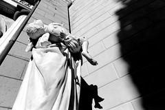 488 ([Blackriver Productions]) Tags: bw graveyard statue death solitude genova desolate staglieno