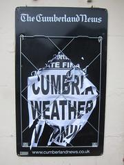 Cumbria weather warning (ambo333) Tags: brampton cumbria england uk bramptoncumbria