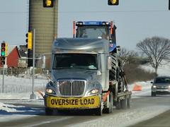 Roehl Transport International Prostar Heavy hauler (PublicServiceEquipmentFan) Tags: transport roehl