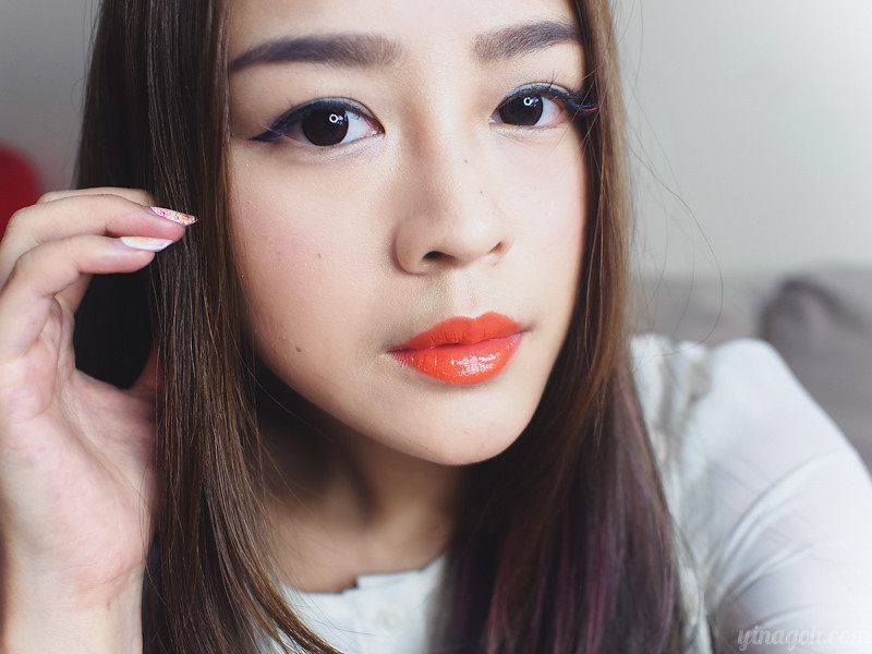 K-Beauty Secrets: Laneige Serum Intense Lipstick in Neon Orange!
