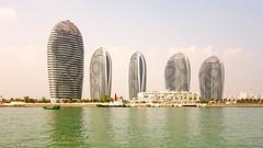 The Sanya Five (ken mccown) Tags: china tower architecture modernism sanya hainan tallbuilding phoenixisland madarchitects