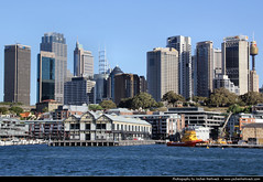 Skyline seen from Blues Point Reserve, Sydney, Australia (JH_1982) Tags: new city travel urban travelling skyline wales del canon point eos harbor cityscape skyscrapers harbour south sydney reserve blues australia du gales nsw sur australien traveling tamron nueva sidney highrises sud australie 18mm      270mm  60d      sdney  nouvellegalles