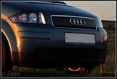 Audi A2 (Zippy's Revenge) Tags: blue car vehicle audi a2 worldcars