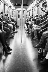Worms of New York - New York Underground (Gaetano Scollo) Tags: street new york people urban usa white newyork black bus apple station underground photography bigapple metropolitana solitudine loneless seleziona approvato