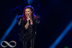 Demi Lovato (Sabrina Lane-Smith) Tags: sabrina toronto ontario canada skyscraper photography lights march photo concert mix neon break tour heart little photos 26 live air centre smith give your cher harmony lane lloyd demi ls fifth 2014 unbroken lovato lanesmith