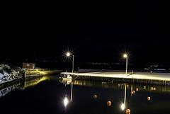 St.Phillips at Night (Greg Noel) Tags: ocean winter st night newfoundland boat nikon phillips nikon1v1