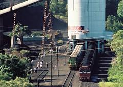 056-23 1991-03-23 4901 D20 D7 and D38 at Kemira Colliery (gunzel412) Tags: geotagged australia newsouthwales aus kembla mountkembla geo:lat=3442280594 geo:lon=15082667470