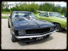 American Live, Luterbach 04. 05. 2014 (v8dub) Tags: auto old classic chevrolet car schweiz switzerland automobile suisse muscle live ss s automotive voiture camaro pony chevy american oldtimer oldcar collector wagen luterbach pkw klassik 396 worldcars