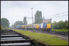 26-05-2014, Amsterdam Westhaven, VR 203-5 + CXX 867 + 919 (Koen langs de baan) Tags: