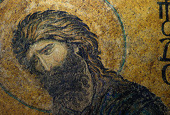 John (close), Deësis mosaic, Hagia Sophia