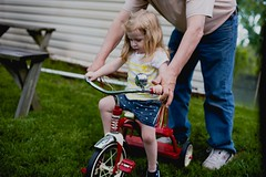 trying out her new trike (Francesca Russell) Tags: lila age2