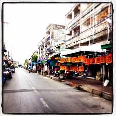 จิบน้าชา ฟังเสียก ริก ริก #นกกรงหัวจุก #ถนนพะเนียด ถนนสายนี้แหล่งรวมนกกรงเสียงดี   #นครศรีธรรมราช