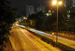 Lights (_MissMoneyPenny_) Tags: city travel cars night lights hong kong luci viaggio notte citt macchine