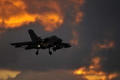 Sunsets (phantom ocu) Tags: sunset mod aircraft airforce bae bomber tornado raf moray lossiemouth panavia lossie gr4 britishareospace