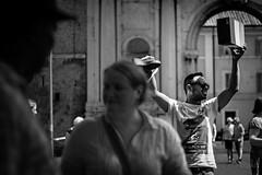 Screamer (Andrea Gallo 101) Tags: street rome roma photography mono gallo andrea monotone 55mm porta m42 f18 rosso fujinon ebc monocrome portaportese portese fujinon55mmf18 a6000 ilce6000