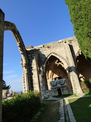 Bellapais Abbey, cloister