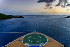 The Oasis of The Sea (trieu.hugo) Tags: cruise ship oasis sea royal caribbean west heading ocean sun set
