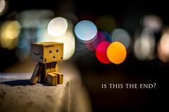 Is this the end? (Martin-Klein) Tags: strobist bokeh danbo