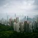 The Cityscape, Peak Tower, Hong Kong Island, SAR of CHina