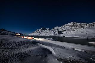 Berninapass, Oberengadin, Graubünden, Schweiz