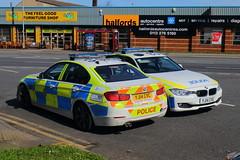 IMG_4490 (Yorkshire Pics) Tags: yj14cvc yj14cve bmw bmwpolicecar bmwpolicevehicle policebmw emergencyvehicles emergencyservicevehicles westyorkshirepolice leeds hunslet