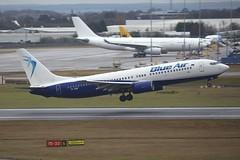 YR-BMF Boeing B738 BHX 01Feb2017 (Citation Ten) Tags: yrbmf b738 bms bhx