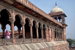 INDIA8244- Jama Masjid (Glenn Losack, M.D.) Tags: india mosques prayer jama masjid islam muslims