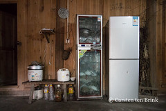 Datang still life (10b travelling) Tags: 10btravelling 2016 asia asie asien carstentenbrink china chine chinese datang guizhou iptcbasic leishan miao prc peoplesrepublicofchina qiandongnan southwest province refrigerator ricecooker southernchina stilllife tenbrink village 中华人民共和国 中国
