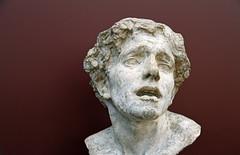 La douleur (Yvan LEMEUR) Tags: sculpture musée muséedorsay art plâtre tête ladouleur paris jeanescoula escoula têtedhomme douleur souffrance expression statue