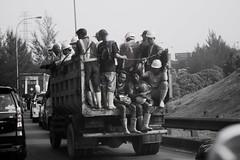 (heidytirta) Tags: people workers safetyworkers desaturation hardworker blackandwhite