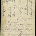 Archiv M073 Feldpost aus der Ramsau, Poststempel 23. September 1918 thumbnail