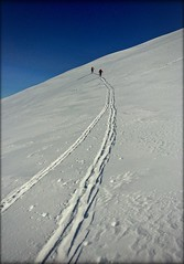 Tracks (t'ma) Tags: mountainsnaps neve scialpinismo