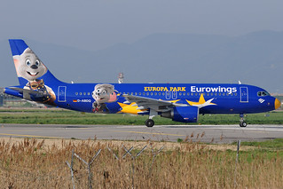 D-ABDQ - Airbus A320-214 - Eurowings - Europa Park livery @ PSA