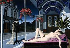 Paul Delvaux (ad_utrumque) Tags: thenudeandthemannequinbypauldelvaux 1 adults architecturaltheme bare belgianperiodorstyle chaiselongue dreamlike eroticism europeanperiodorstyle females fineart flower furniture mannequin modernartperiodorstyle modernistperiodorstyle nude oilpaintings paintings pauldelvaux people porch pottedplant reclining road seatingfurniture sensuality street surrealistperiodorstyle twilight visualarts westerneuropeanperiodorstyle whites women