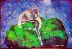 Spring dance - Danza primaveral (Leo Bar) Tags: dance spring colors compositing creative painting pixinmotion digitalart danza leobar texture netartii awardtree