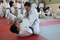 Nada High School visits Oxford Judo