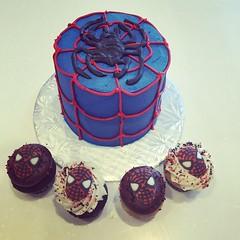 278 (devbydylan) Tags: cake birthday superhero spiderman