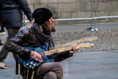 Rocking beard (owdtwobad) Tags: music musician streer rock portrait people city citylife lifestyle streetphotography tune